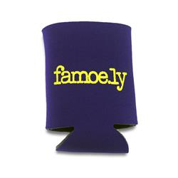 Famoe.ly Purple Koozie