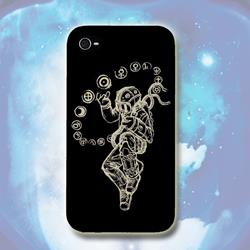 Starman Black iPhone 5 Case