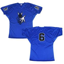 The Wraith 6 Royal Blue Football Jersey