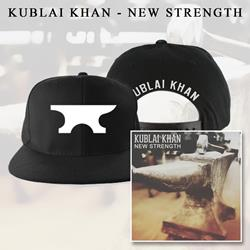 Kublai Khan - New Strength CD + Snapback