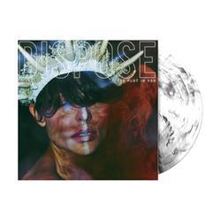Dispose White with Black Smoke Vinyl LP