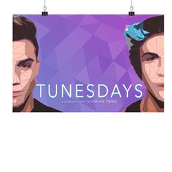 SIGNED Tunesdays  11X17