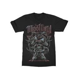 Lunatik Black T-Shirt
