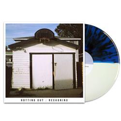 Rotting Out Half White/Half Blue w/Black Splatter LP