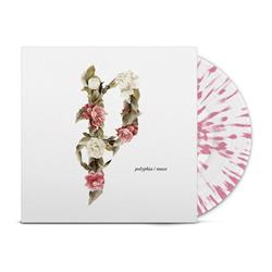 Muse White W/ Pink Splatter