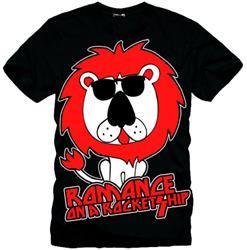 Rock Lion Went Crazy Black