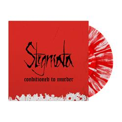 Conditioned To Murder Red & White Splatter