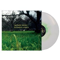 Split White w/Kelly Green Haze LP