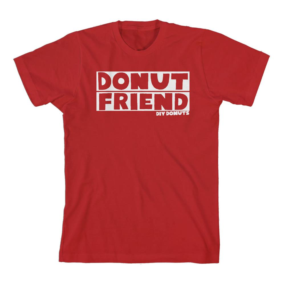 DIY Donuts Red