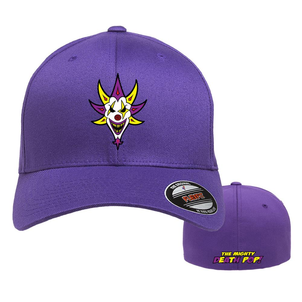 Death Pop Album Purple Flexfit