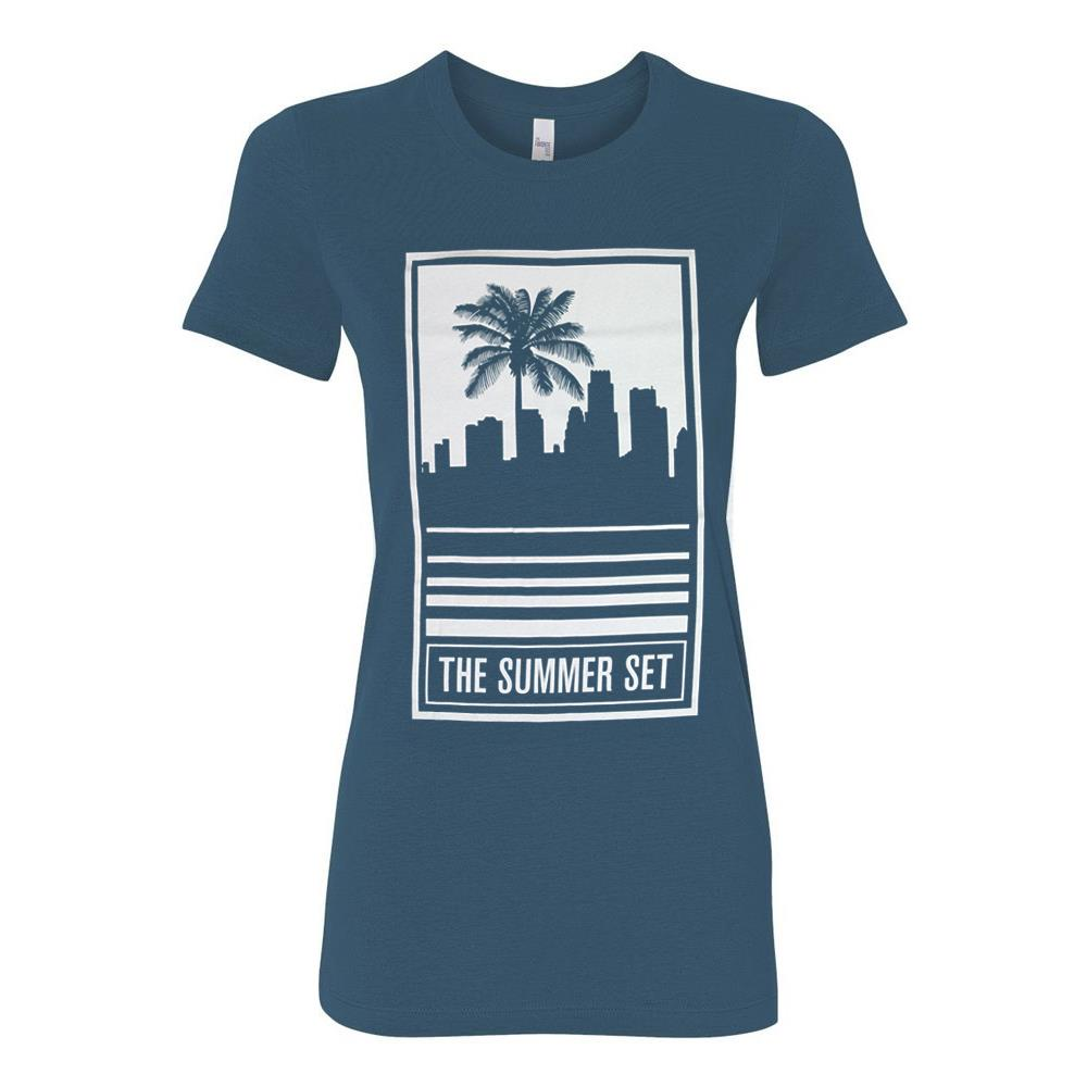 Skyline Turquoise Girl's T-Shirt *Final Print!*