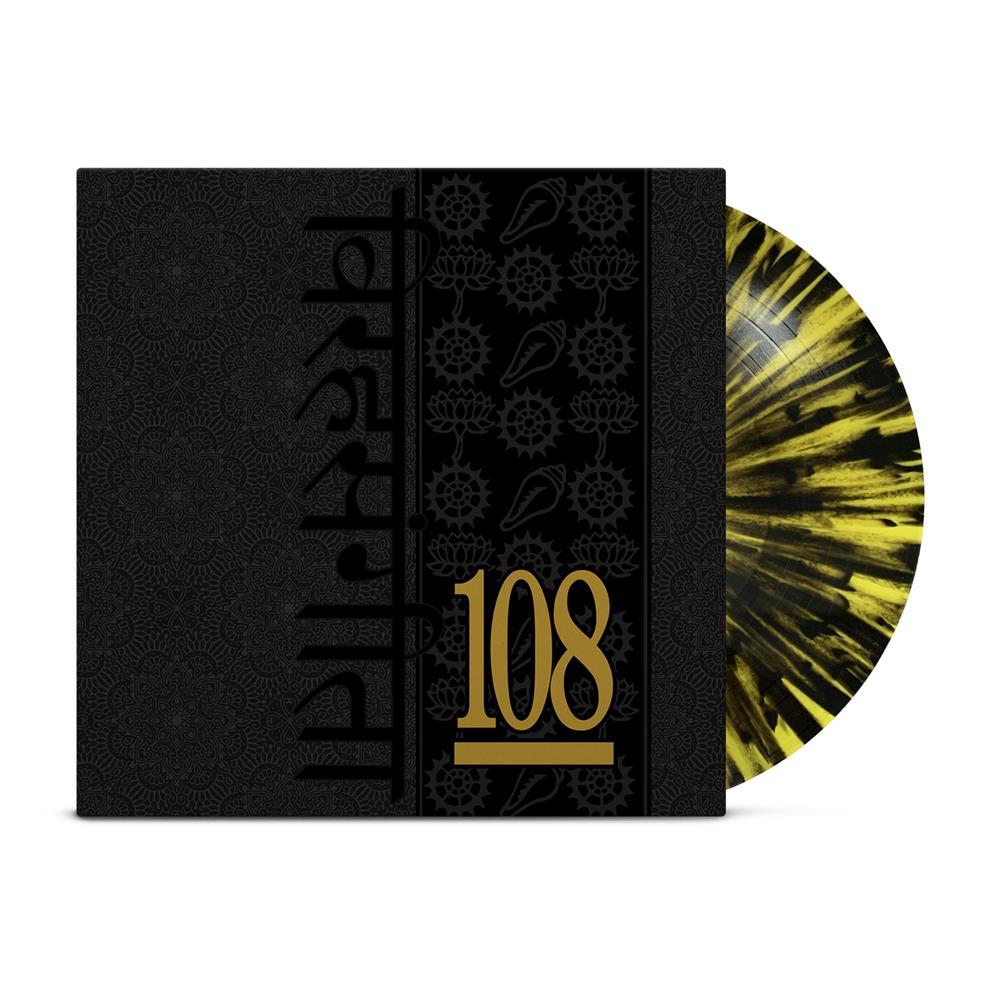 Songs Of Separation Yellow W/ Black Splatter