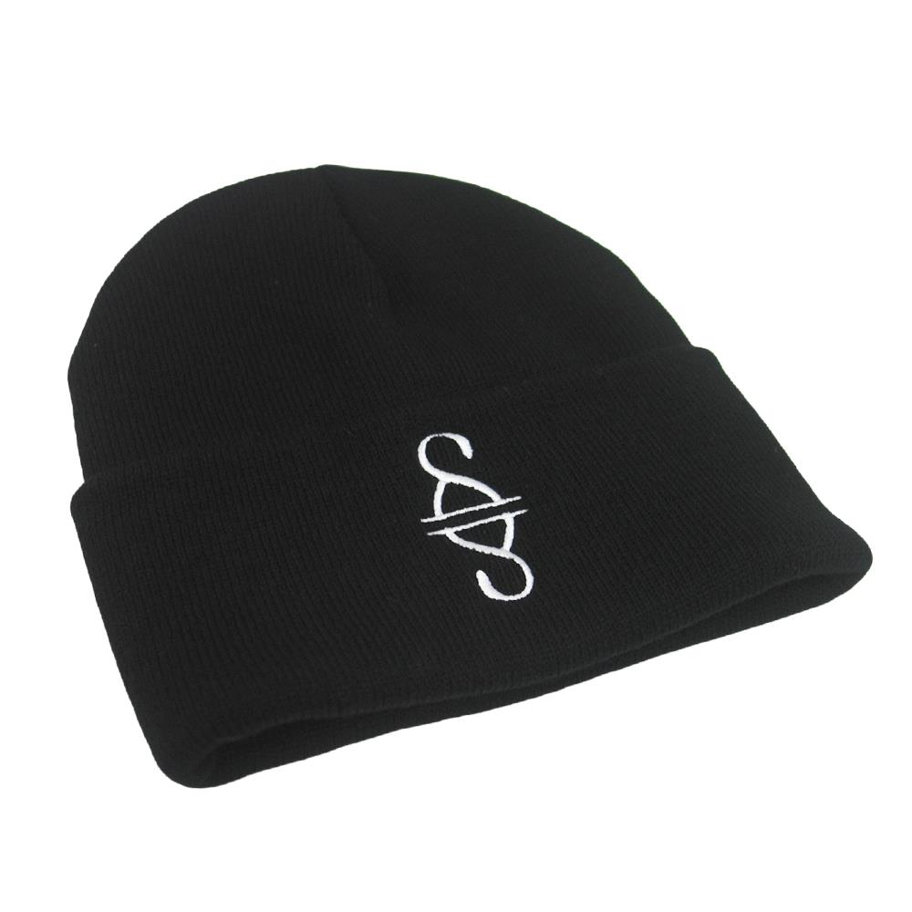 Logo Black Embroidered