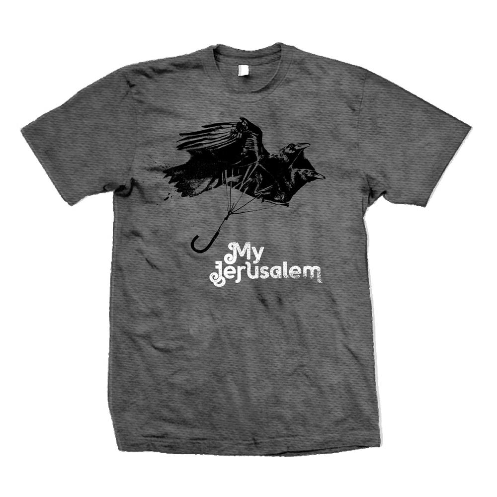Crow  Charcoal Heather Grey
