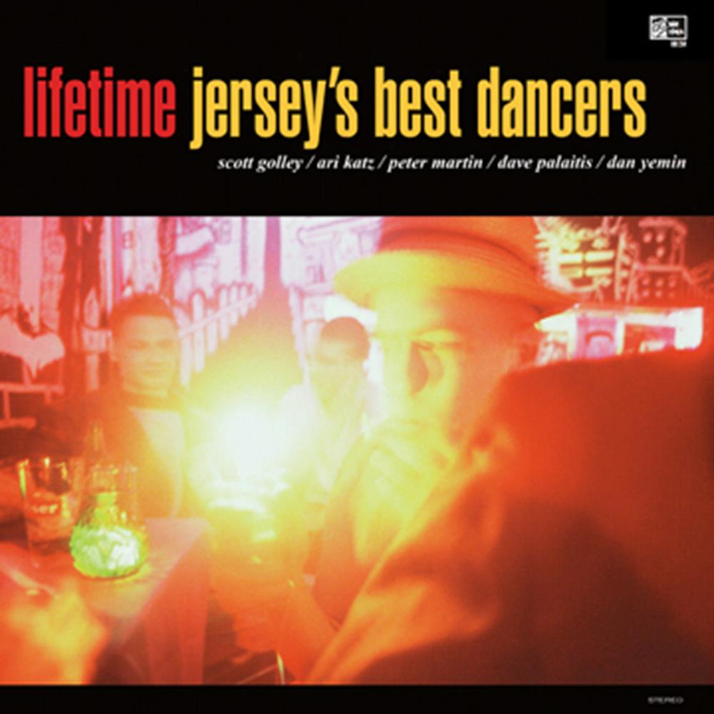 Jersey's Best Dancers Clear Red LP Vinyl