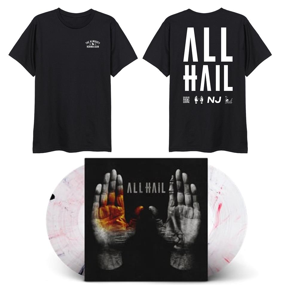 ALL HAIL Mirror LP + Tee + DD