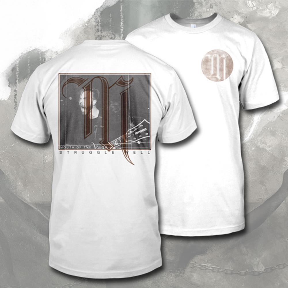 Struggle Well Live Shot White T-Shirt - Final Print!