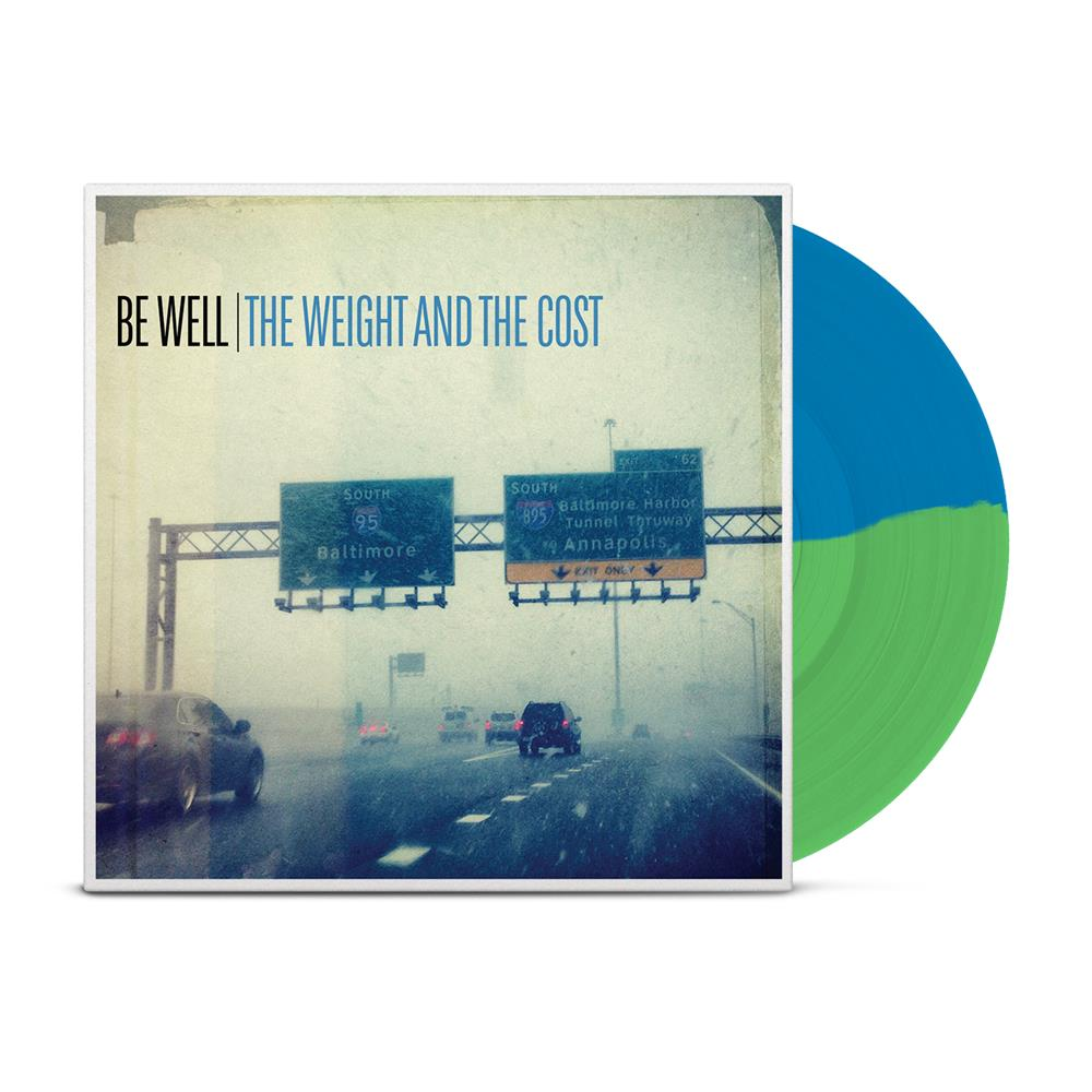 The Weight And The Cost Half Green/Half Blue