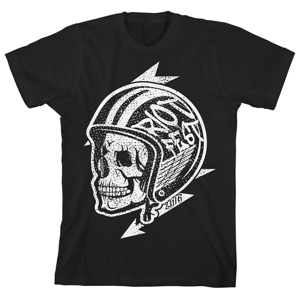 Skull Helmet Black
