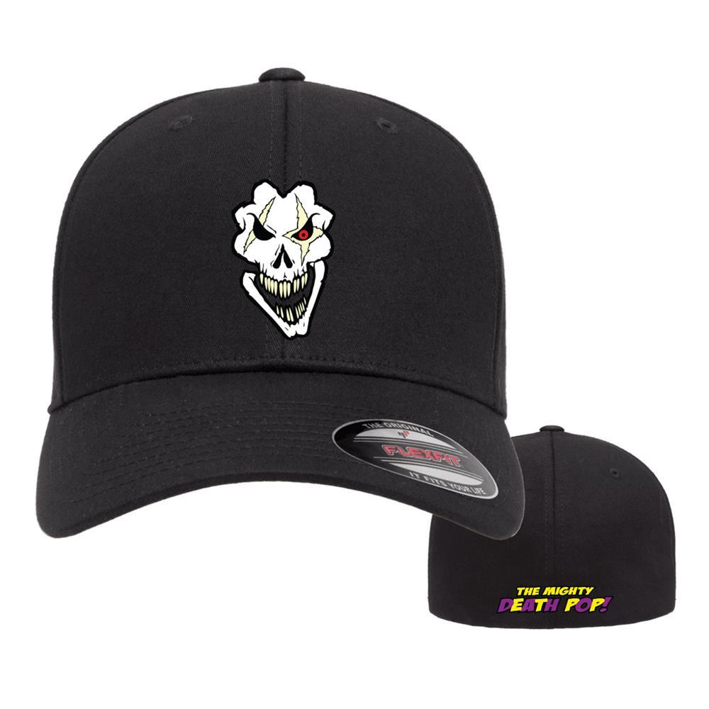 Death Pop Skull Black Flexfit