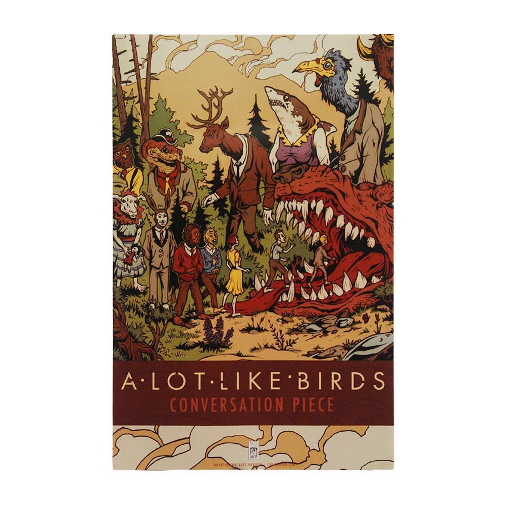 A Lot Like Birds Conversation Piece Poster