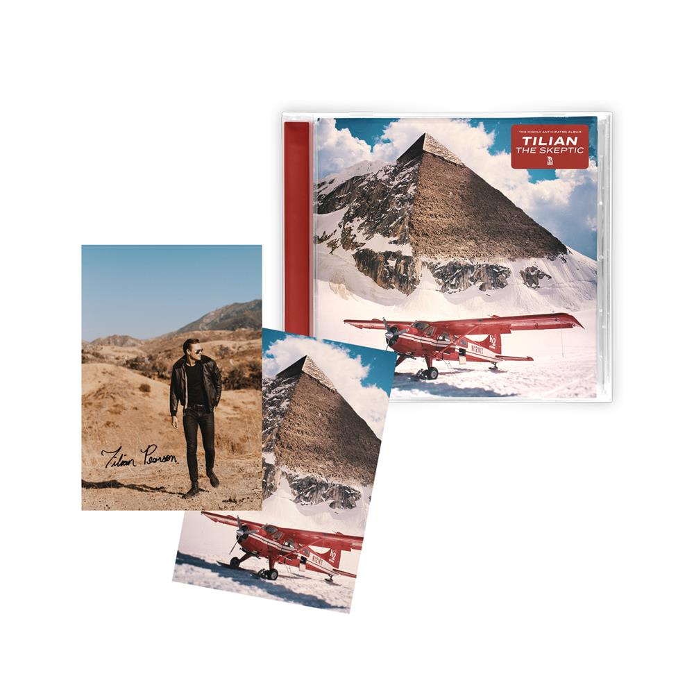 The Skeptic CD + Autographed Postcard Pack