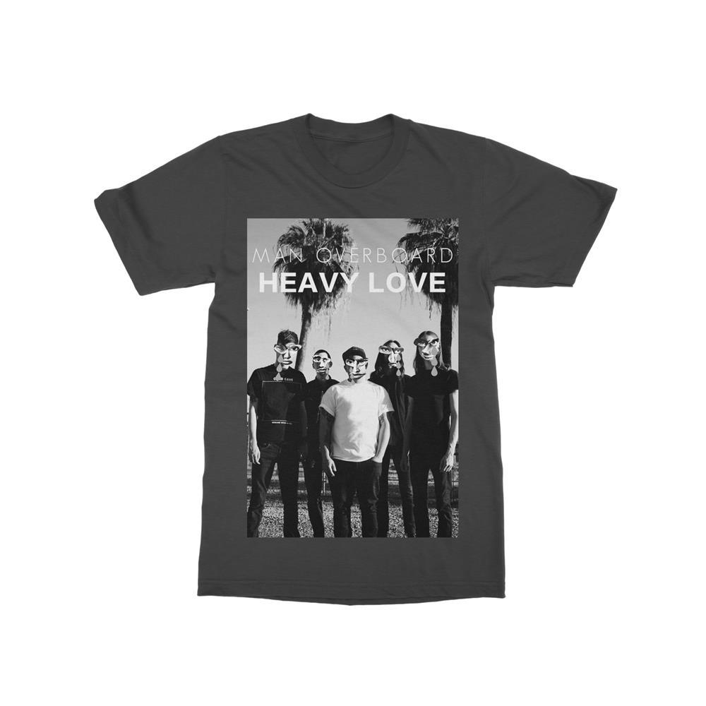 Faces Charcoal T-Shirt