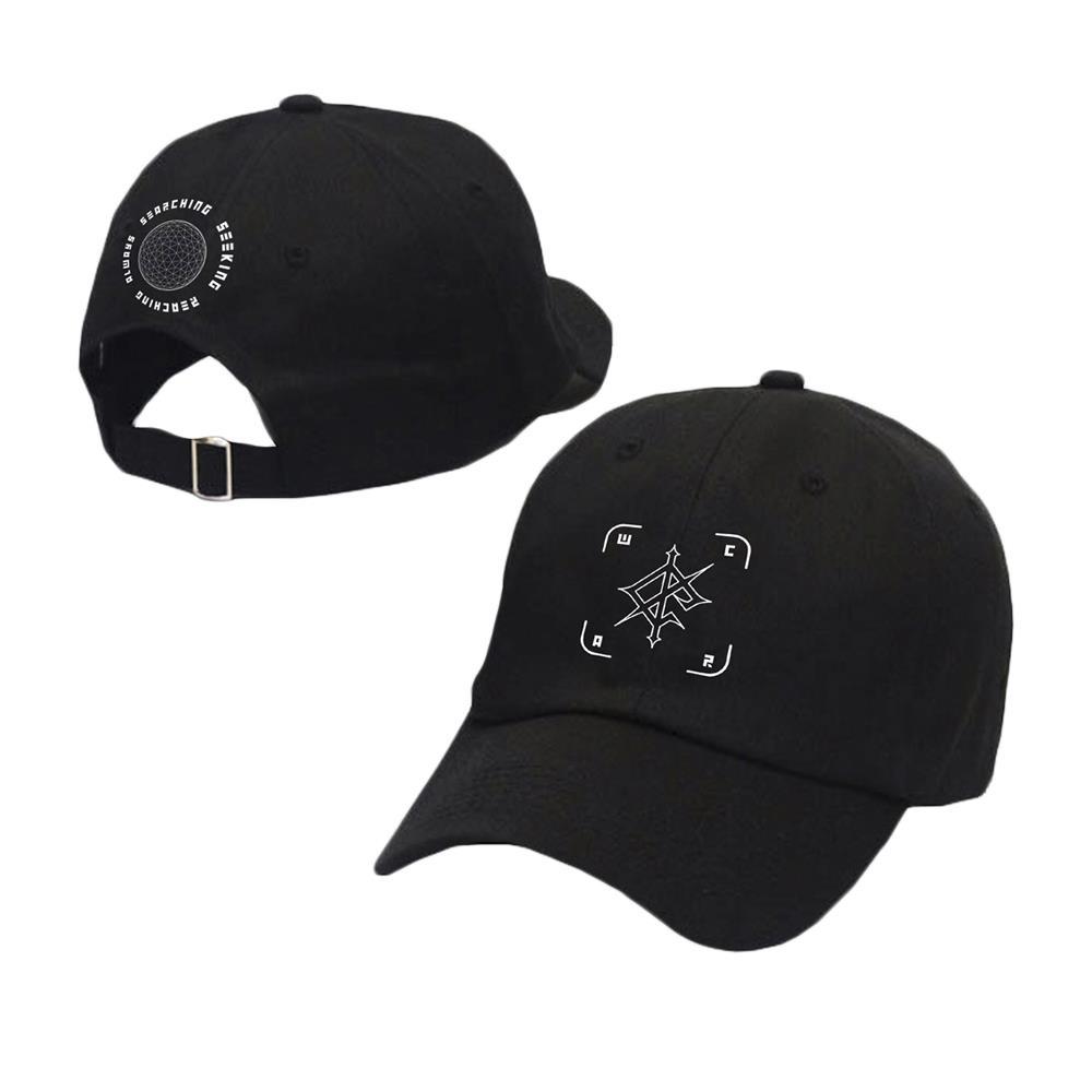 Searching, Seeking, Reaching, Always Black Dad Hat