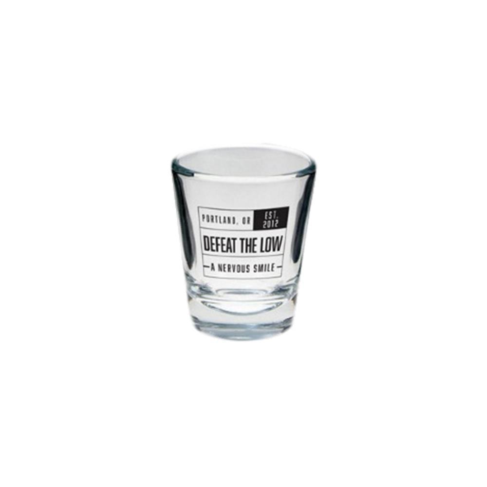 A Nervous Smile Shot Glass