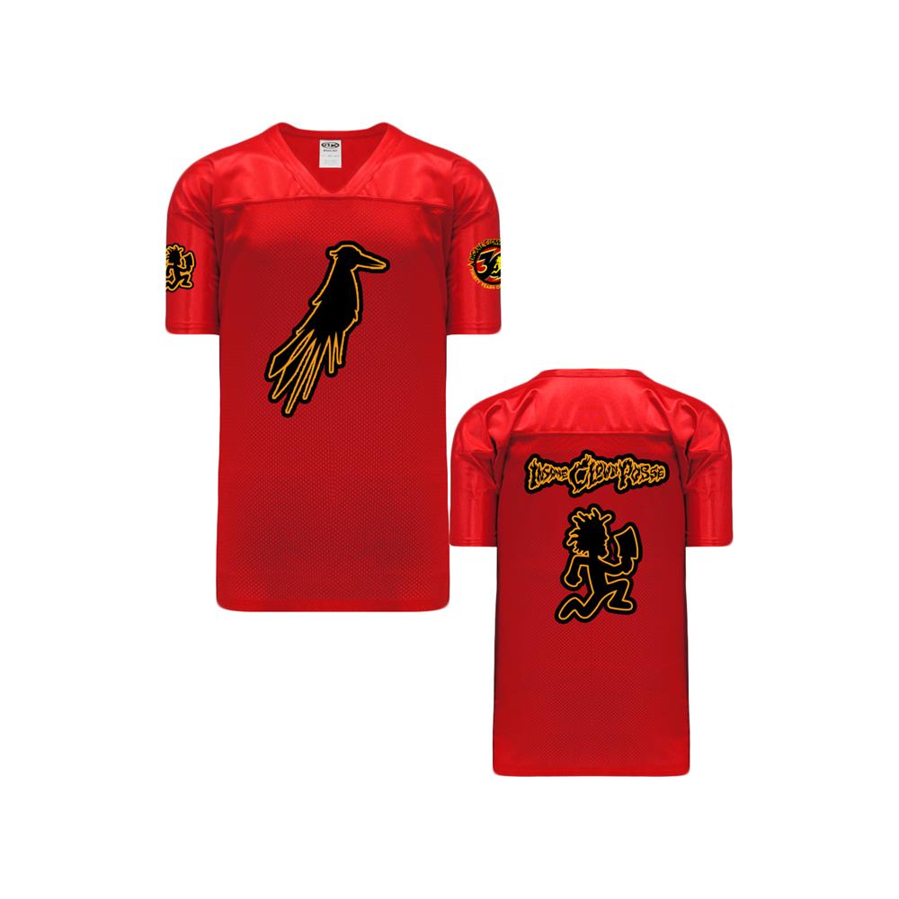 Hell's Pit Crow Red Football Warmup