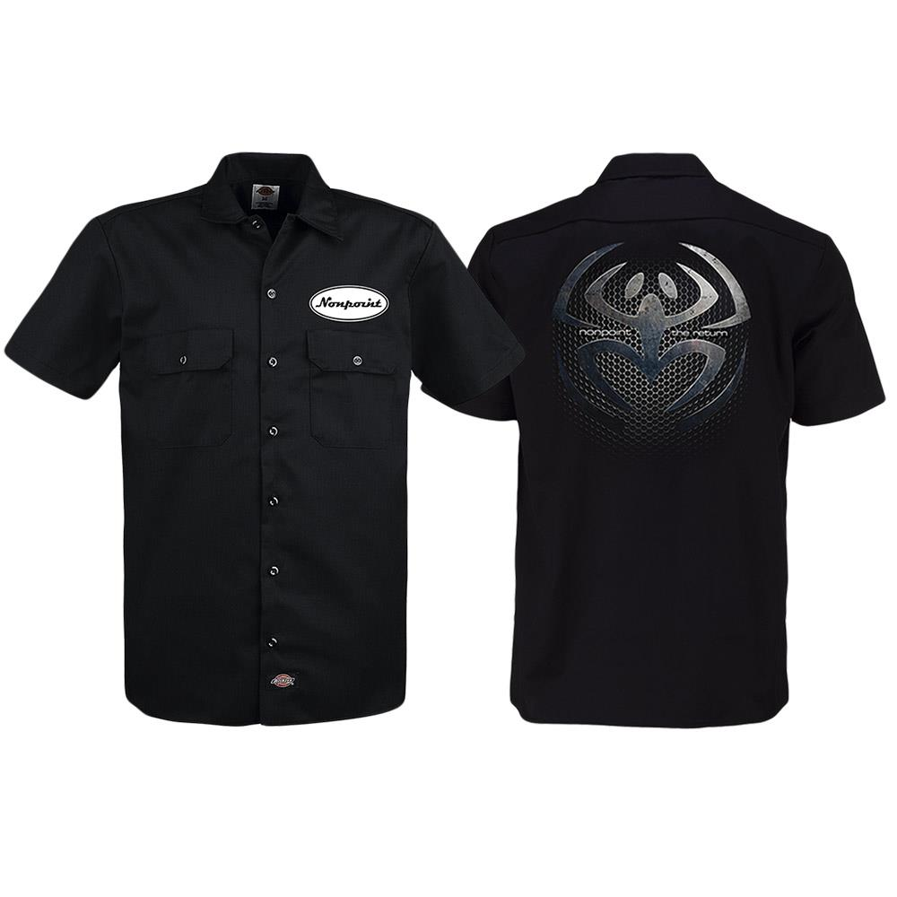 NonPoint The Return Black Work Shirt