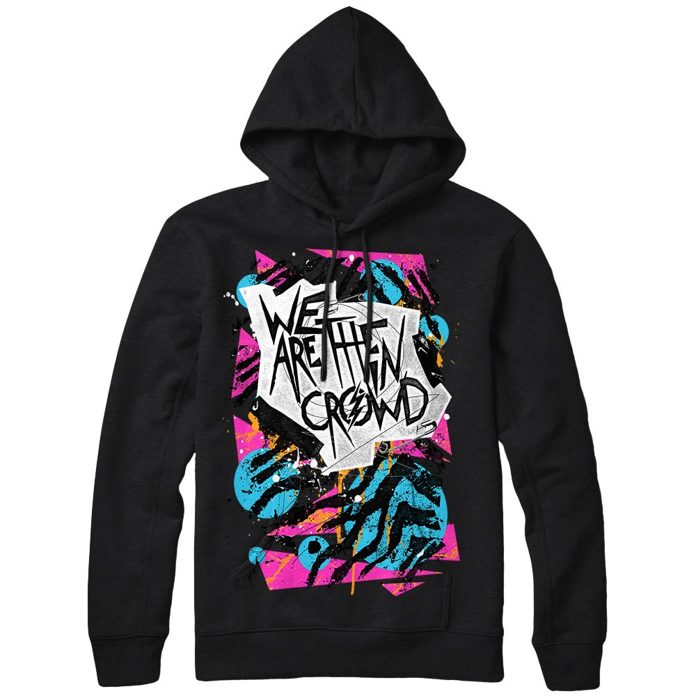 We Are The In Crowd - Vandal Black Hooded