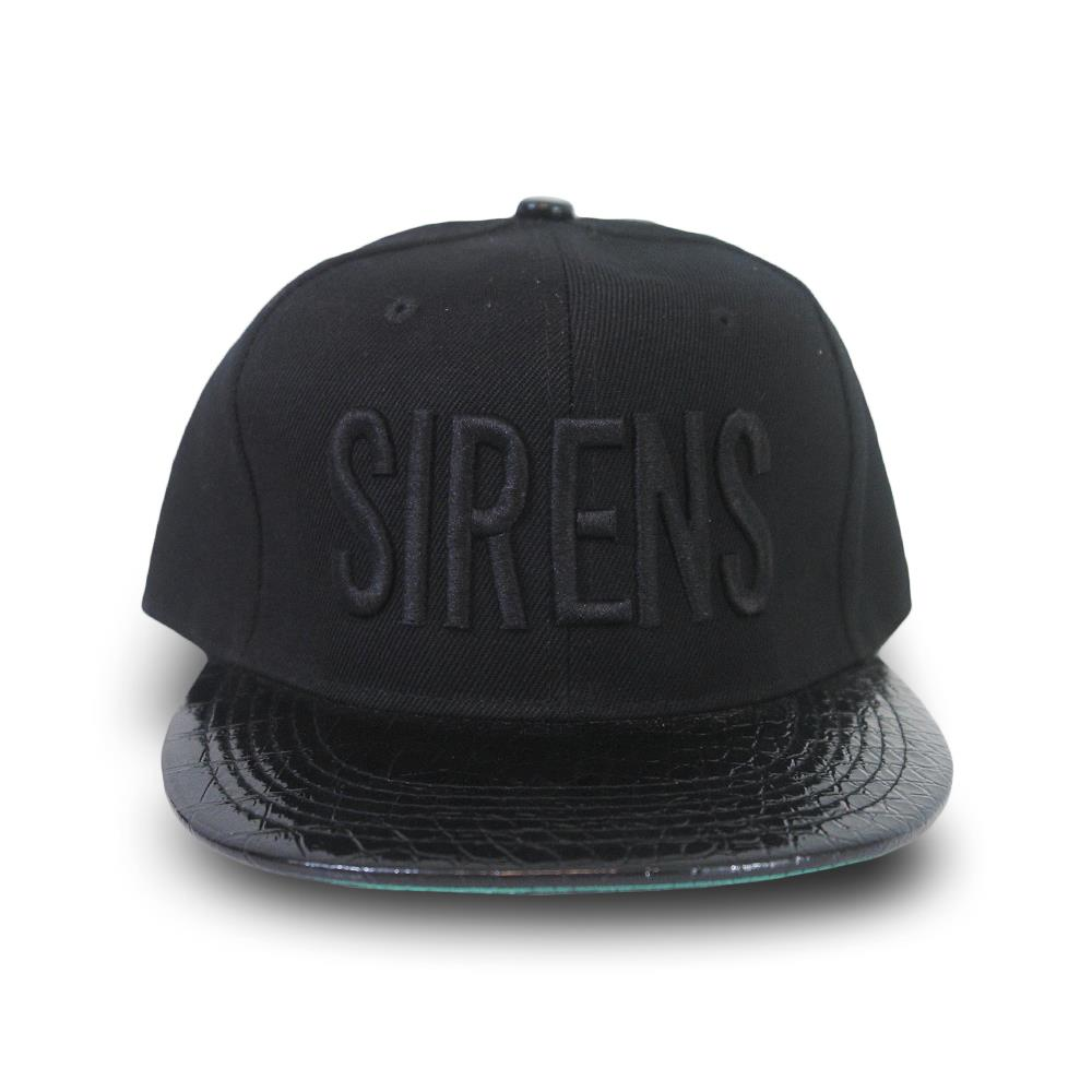 Blackout Sirens Black Snapback
