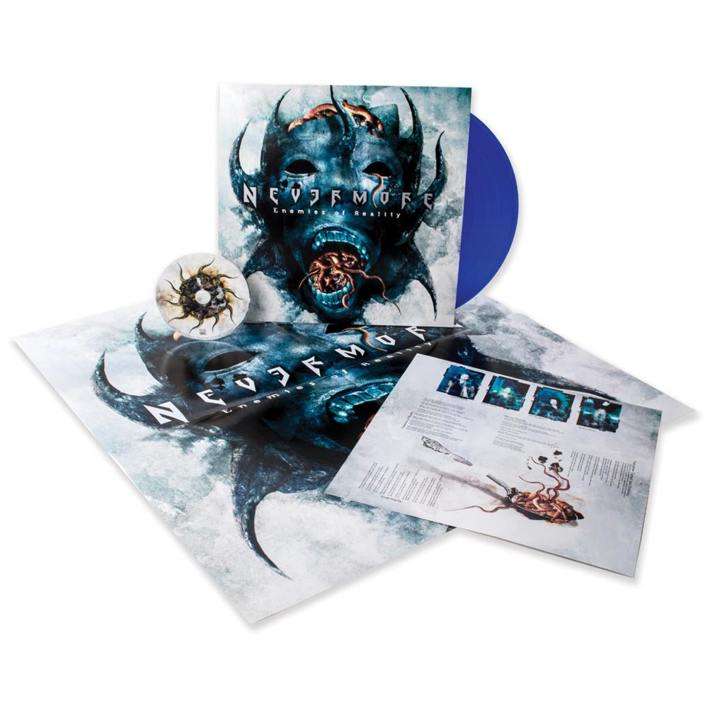 Enemies Of Reality (Re-Mixed & Re-Mastered) Transparent Blue +CD & Poster