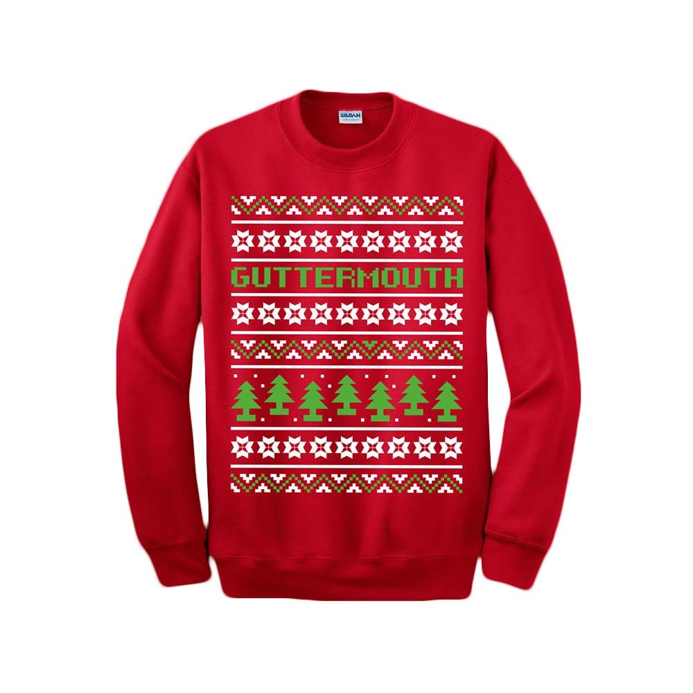 Xmas Red Crewneck Sweater