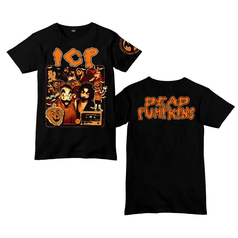 30th Anniversary Dead Pumpkins Black