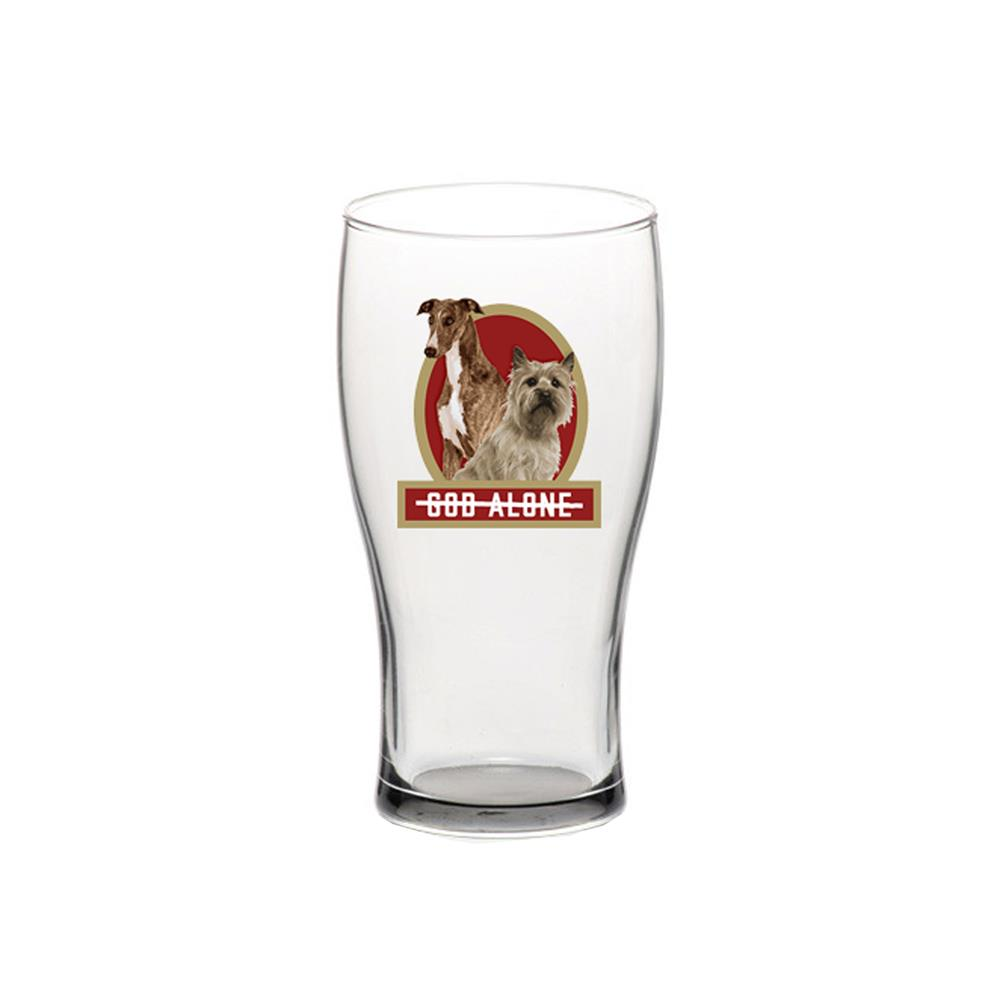 Dogs  Pint Glass