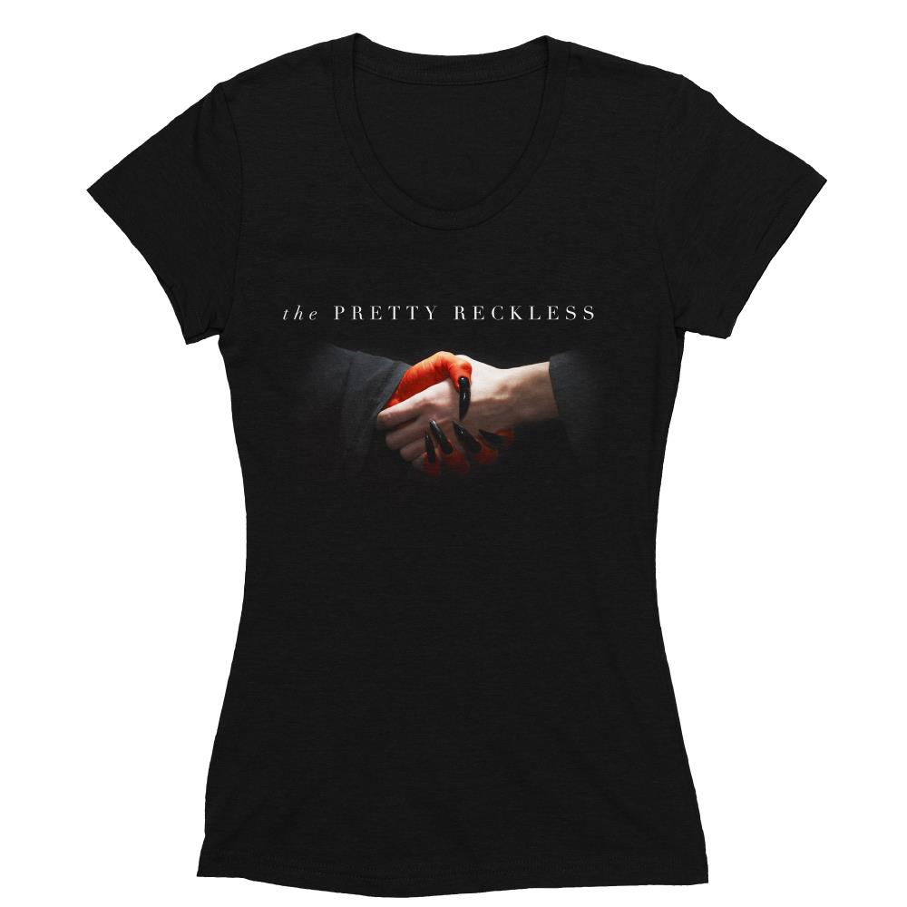 Hands Black Women's T-Shirt