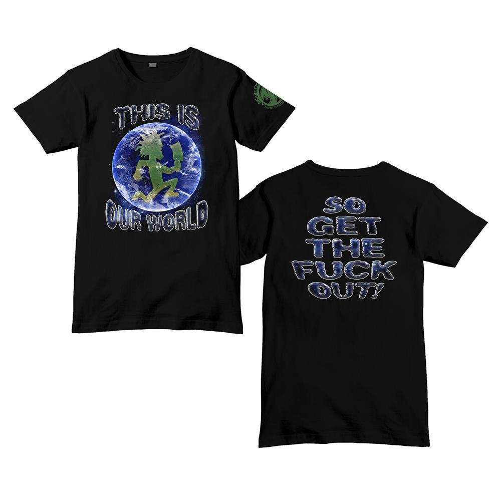 30th Anniversary Our World Black