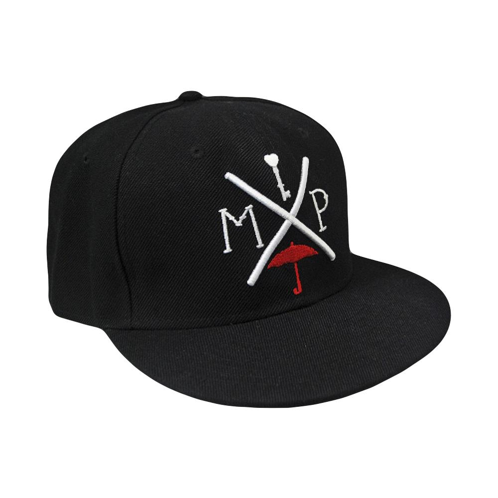 Arrow Black / Red Snapback