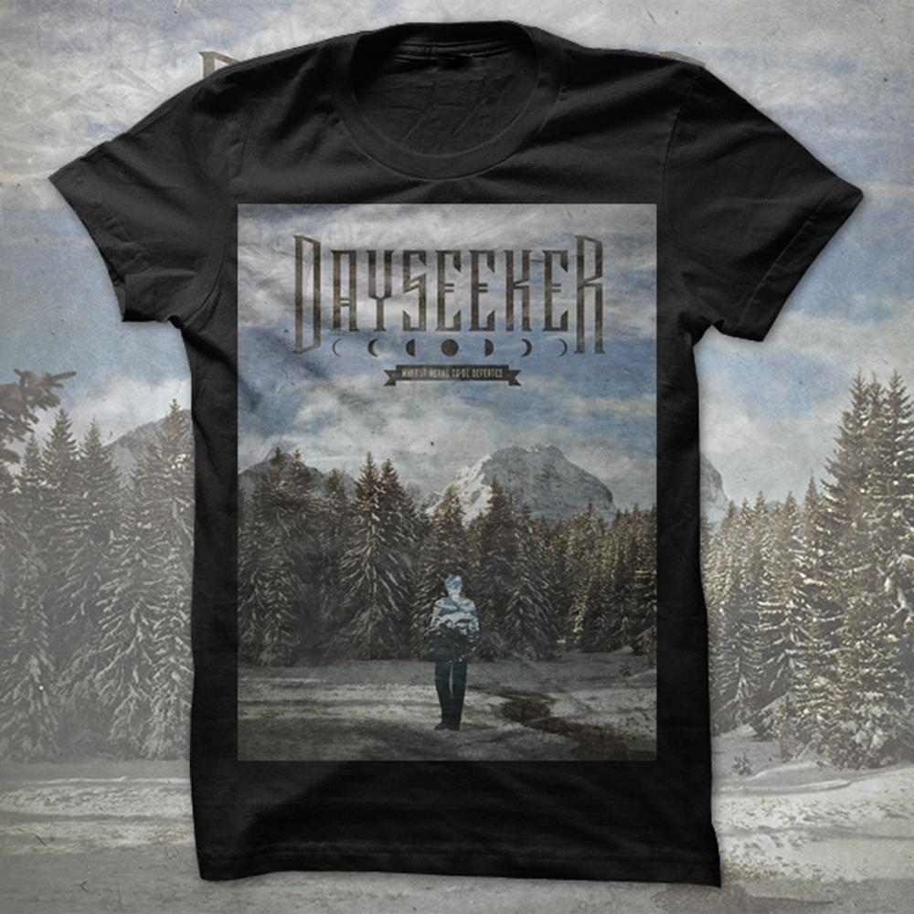 Winter Black T-Shirt