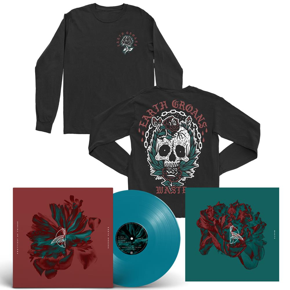 Prettiest Of Things/Waste Waste Blue LP + Long Sleeve + Digital