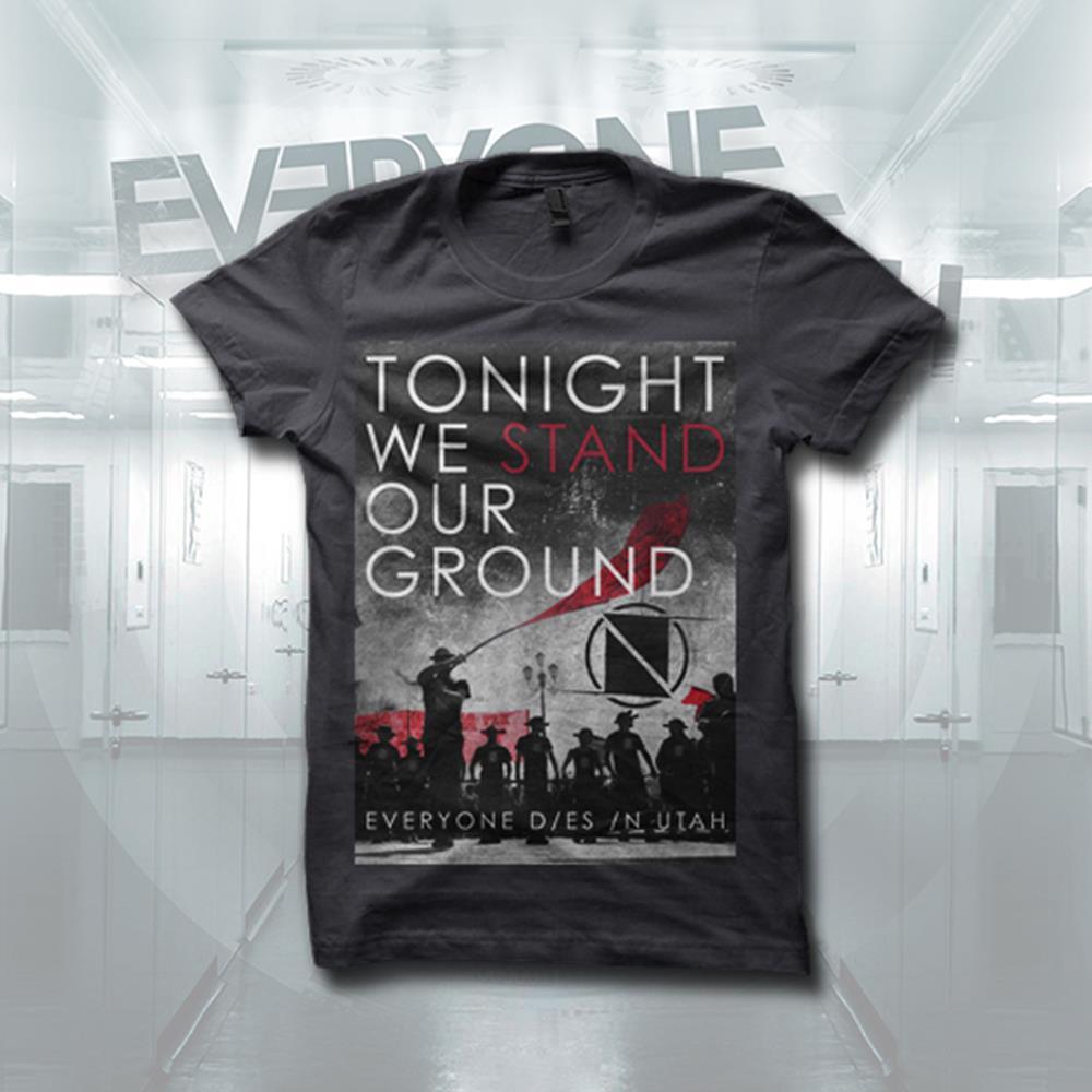 Tonight We Stand Dark Grey T-Shirt