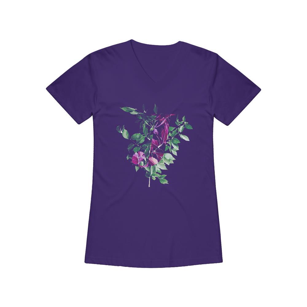 Take Everything Purple V-Neck
