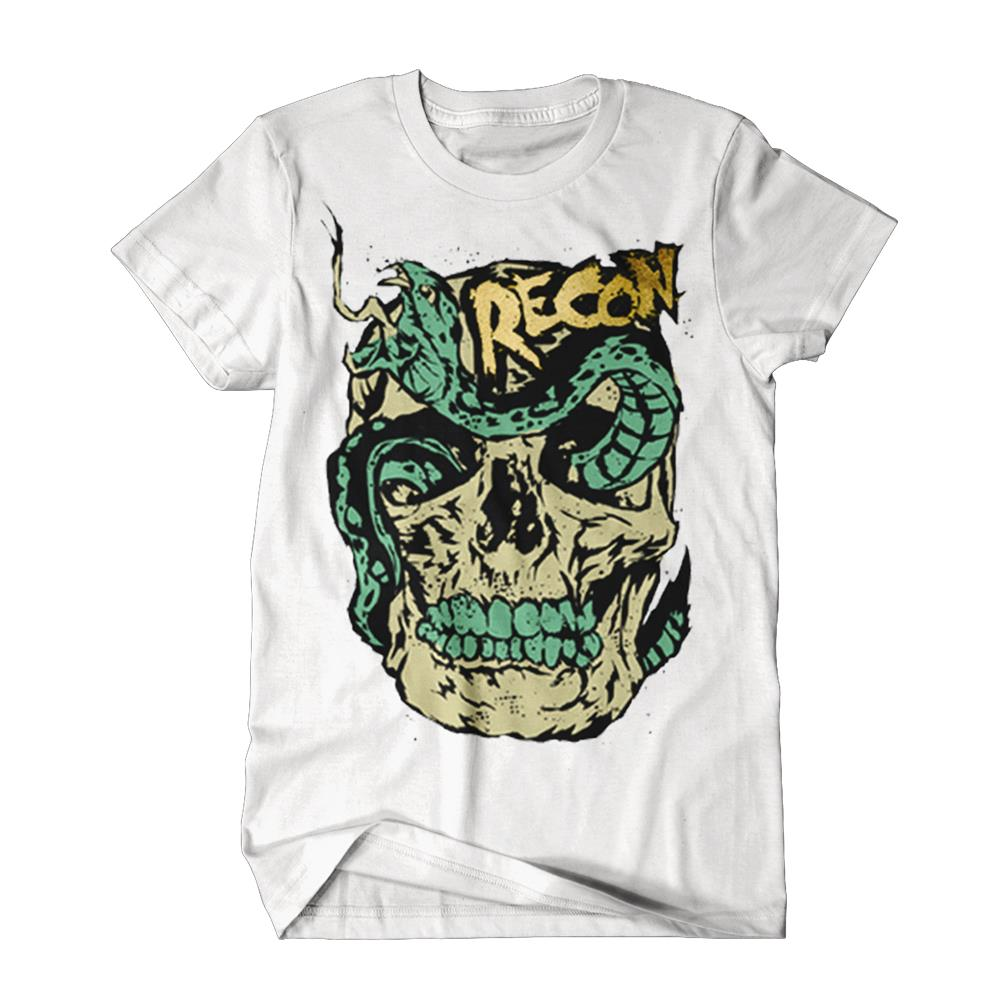 Snake Head White *Sale! Final Print!*