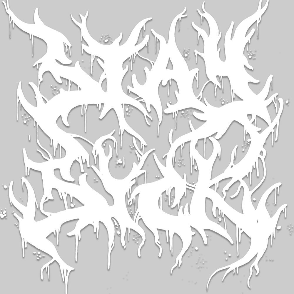 Death Metal Logo Car Decal