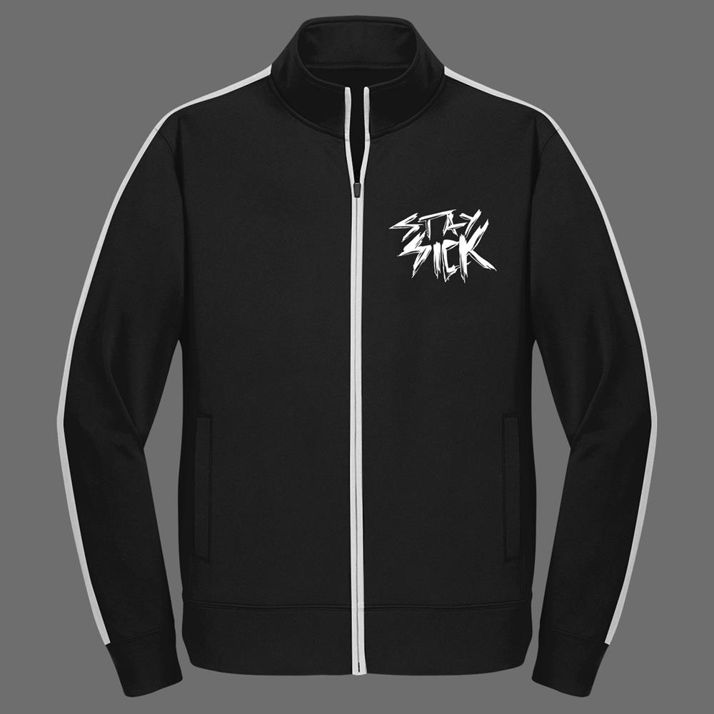 Logo Black Track Jacket