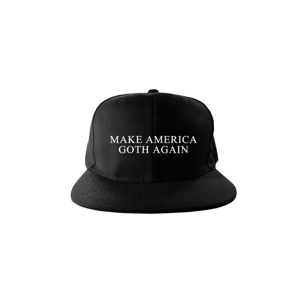 Make America Goth Again Black Snapback