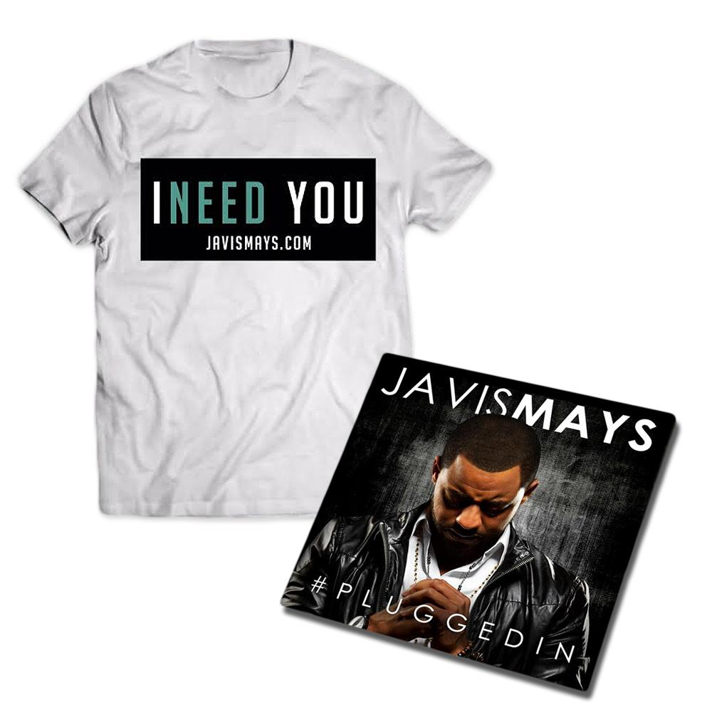 #PluggedIn Tee/CD Bundle