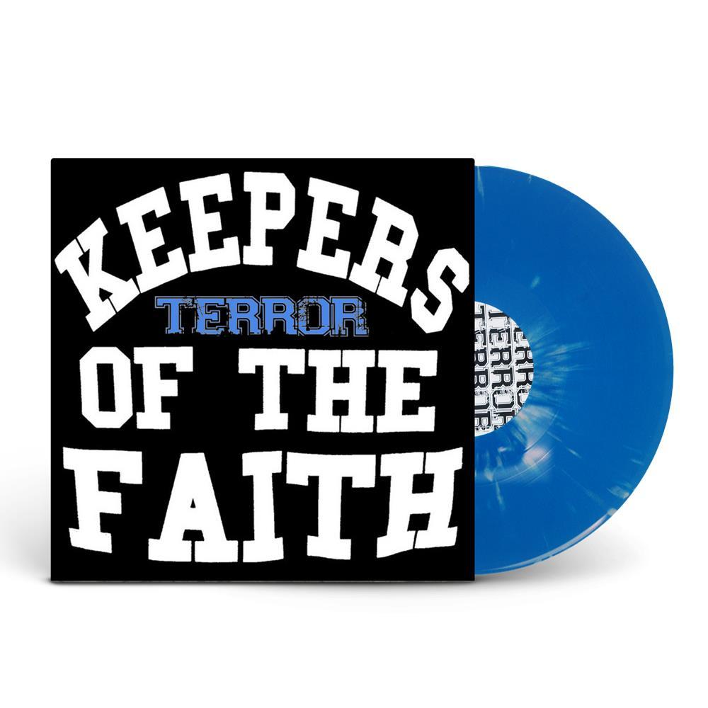 Keepers Of The Faith Blue W/ Grey Burst 12